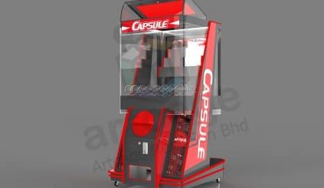 Custom-made your own Gashapon machine!