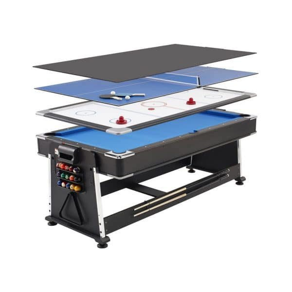Pool Table, Air Hockey and Table Tennis